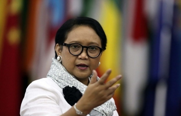 covid 19 raises fragility of conflict ridden countries indonesian fm