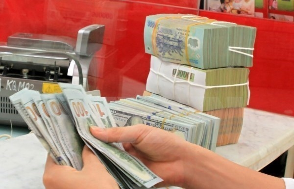 reference exchange rate down 5 vnd on august 19