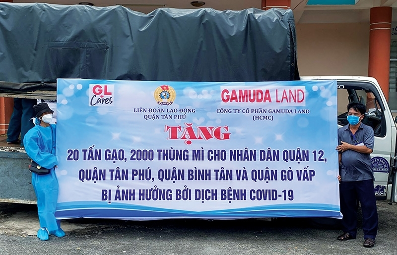 Gamuda Land standing alongside Ho Chi Minh City
