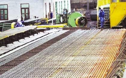 steel plants drain power