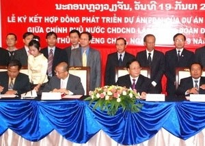 sig builds hydroelectric plant in laos