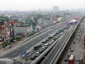 giant belt road on path to construction