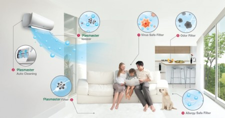lgs inverter air conditioners boost energy saving