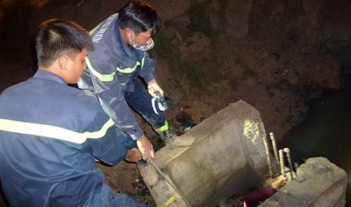 Body of boy swept into sewer in southern Vietnam found after 3 days