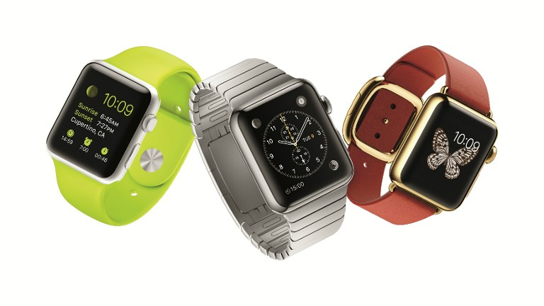 Apple Watch straps computing to wrist