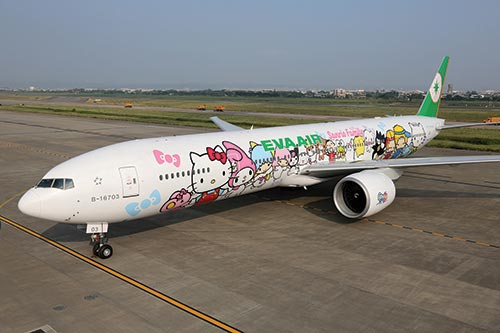 EVA Air unveils more Hello Kitty jets