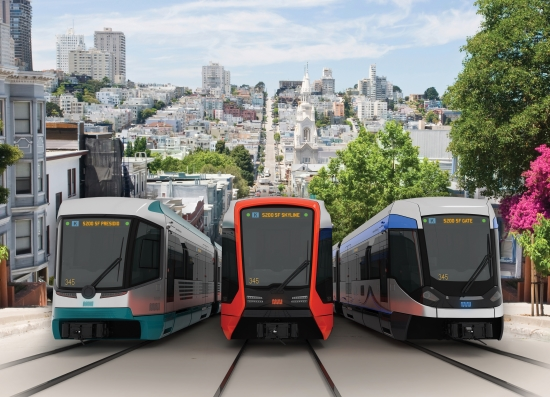 San Francisco orders 175 light rail cars from Siemens