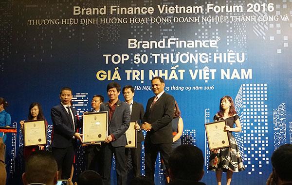vinacafe bien hoa joins top 50 most valuable brands of vietnam