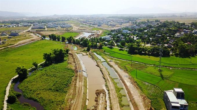 da nang accelerates flood discharge project