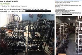 Vietnamese rush to import bitcoin-mining machines