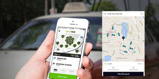 traditional taxi firms turn to technology