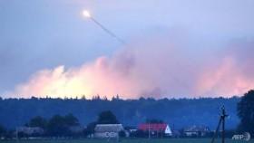 Thousands flee huge 'sabotage' explosion at Ukraine arms depot