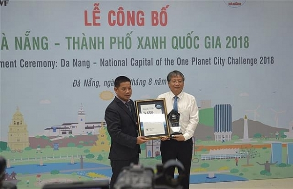 Danang proud to be Vietnam's green city of the year