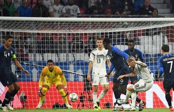 france and germany draw nations league opener
