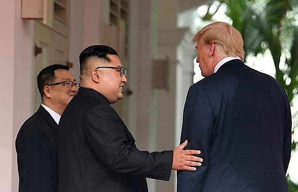 trump received kim jong un letter seeking second meet white house