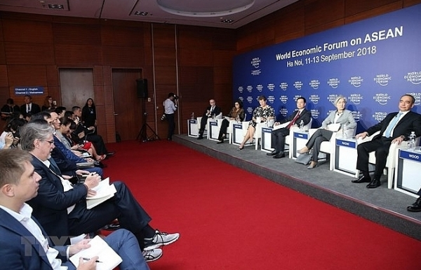 wef on asean co chairs share views of forum