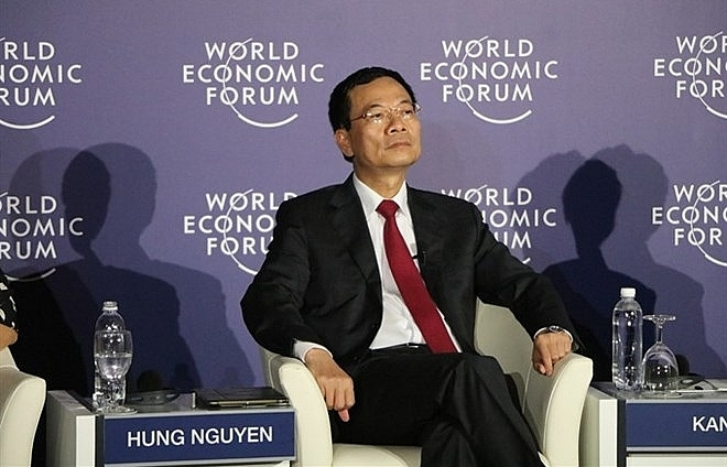 Vietnamese information minister raises flat ASEAN initiative at WEF