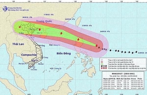 super typhoon mangkhut to hit vietnam on sept 17