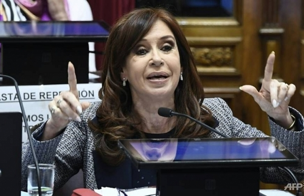 ex president kirchner charged in argentina corruption scandal
