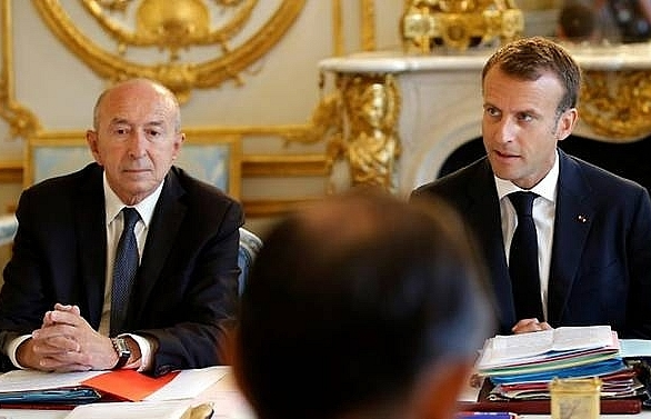 french interior minister to quit in further blow to macron