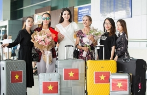 thuy vi jets off to philippines for miss asia pacific intl 2018