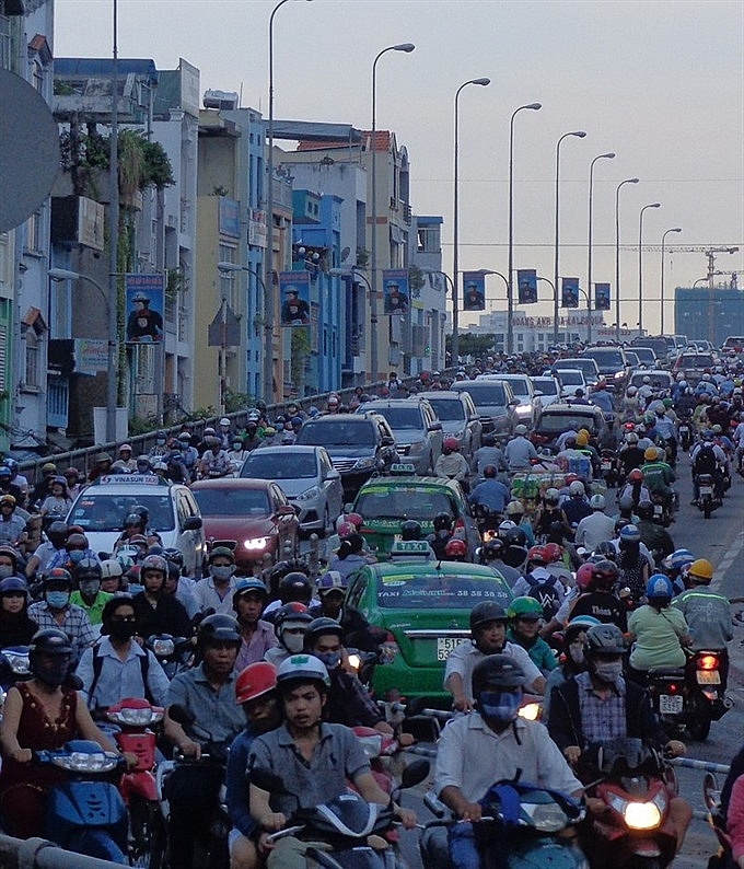 hcm city to build more roads to unclog highly congested south