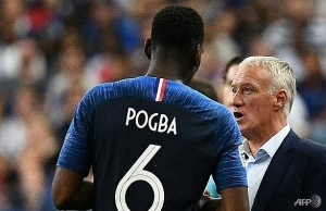 pogba not as selfish as people think says deschamps