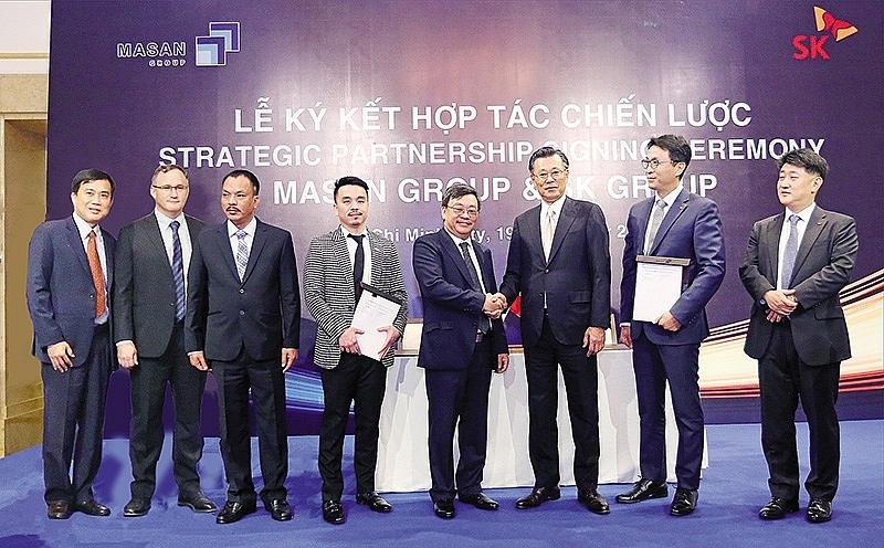 similar paths led sk and masan into new strategic partnership
