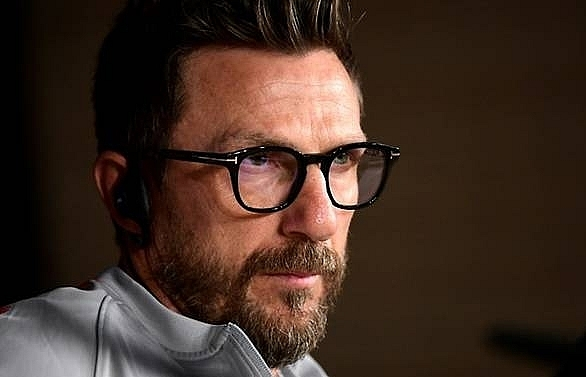 di francesco under fire as roma owner disgusted by bologna defeat
