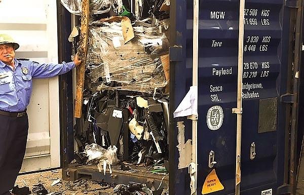 MONRE detects 158 illegal scrap importers