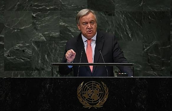 un chief warns of chaotic world order as general assembly opens