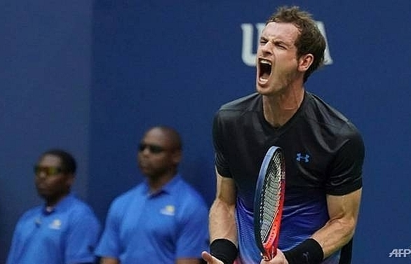 murray wins first round at shenzhen after zhang retires