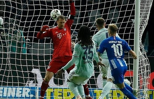 duda strikes again as bayern suffer shock defeat in berlin