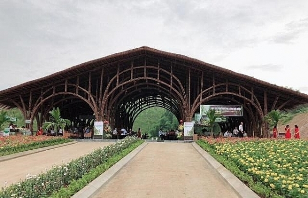 thanh tam bamboo ecopark inaugurated in thanh hoa province