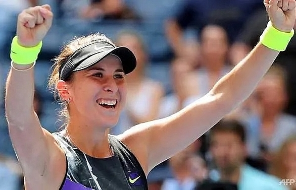 bencic advances to first grand slam semi final at us open