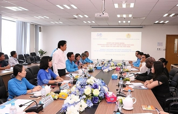 vietnam to host world federation of trade union congress in 2021