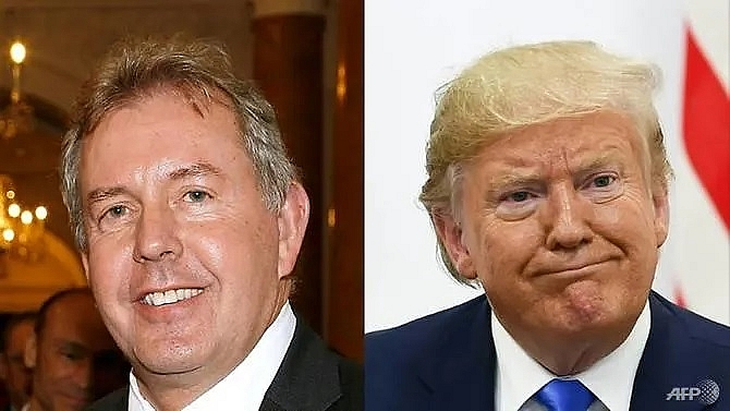 former british diplomat targeted by trump made a lord