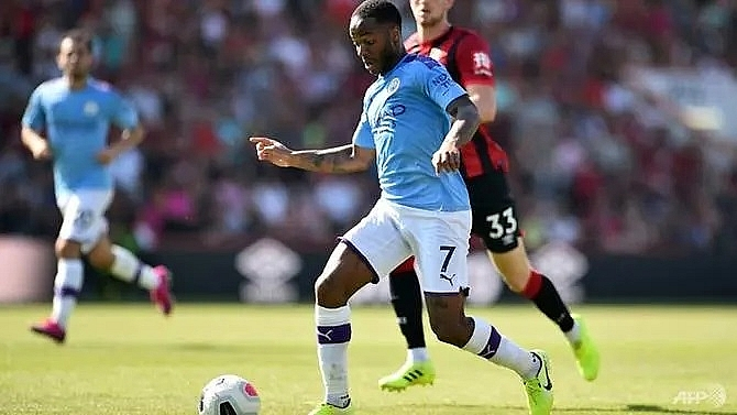 sterling not on same level as messi ronaldo says guardiola