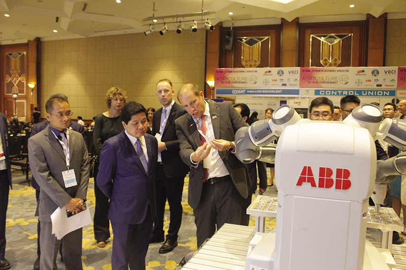abb writes the future of agriculture