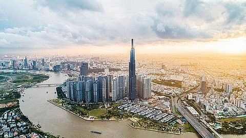 realty banking drives vn index up