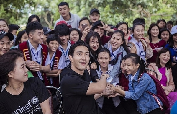 korean artists to join unicefs anti bullying campaign in vietnam
