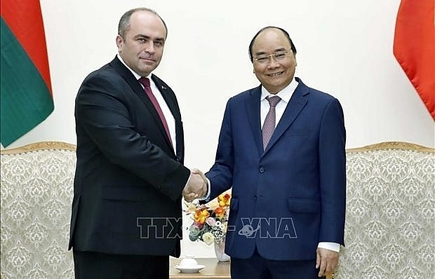 vietnam always treasures close relations with belarus pm