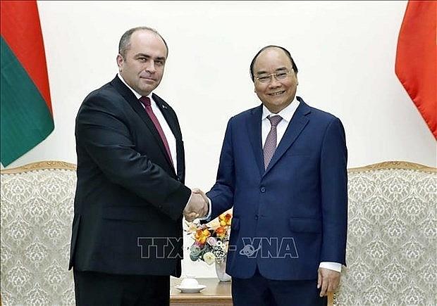 vietnam always treasures close relations with belarus pm