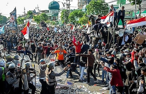 second indonesian student dies in legal reform protests
