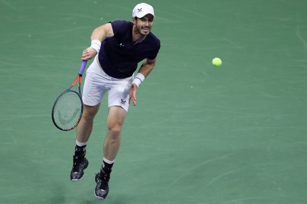 murray crashes out of us open in round two