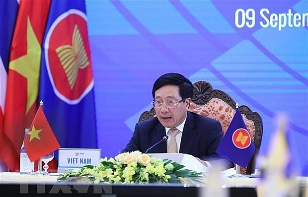 asean steps up cooperation with china japan rok