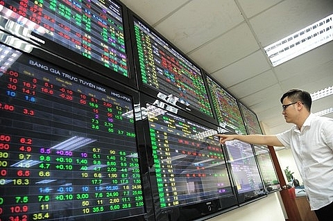 local market climbs on industrial real estate stocks