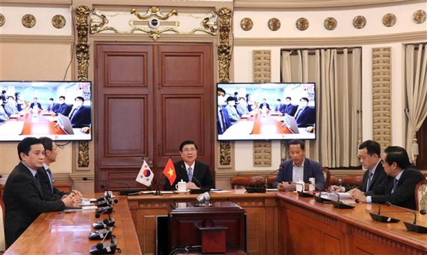 hcm city busan to set up virtual inter sector working group