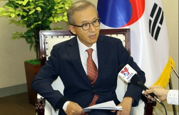 korean ambassador to asean highly values vietnams leadership in face of covid 19