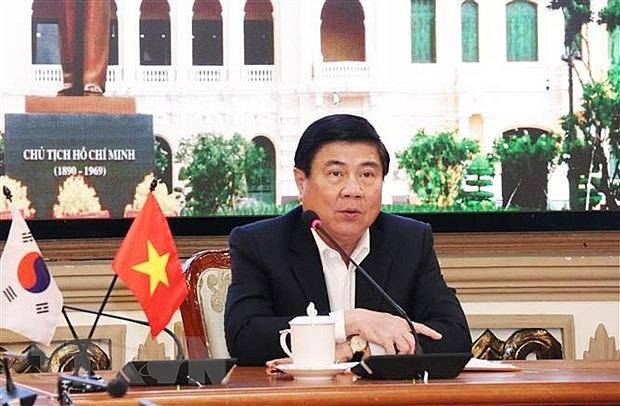 hcm city roks daegu look to bolster cooperation